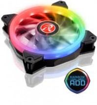 RAIJINTEK IRIS 12 Rainbow A-RGB LEDventilátor - 120 mm (0R40B00110)