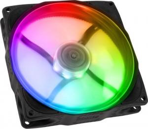 Noiseblocker NB-eLoop X B14-P ARGB fekete, 140 mm (ITR-B14X-P-BL)