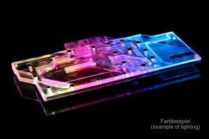 Alphacool Eisblock Aurora Plexi GPX-A AMD Radeon RX 5700 XT XFX Thicc II / III /11760/