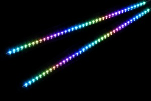 Alphacool Aurora Rigid Digital RGB LED Strip (2.5mm Width) 2db - 40cm merev /15375/