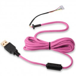 Glorious PC Gaming Race Ascended Cable V2 - Majin Pink (G-ASC-PINK-1)