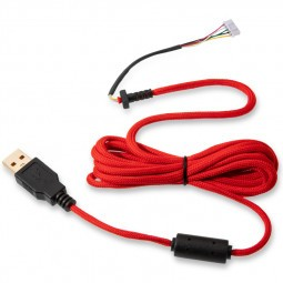 Glorious PC Gaming Race Ascended Cable V2 - Crimson Red (G-ASC-RED-1)