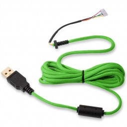 Glorious PC Gaming Race Ascended Cable V2 - Gremlin Green (G-ASC-GREEN-1)