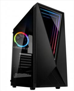 Kolink VOID RGB Midi-Tower - fekete Window (VOID RGB)
