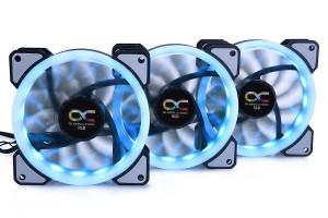 Alphacool Eiszyklon Aurora LUX Digital RGB - 3as Kit (120x120x25mm) 24804