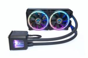 Alphacool Eisbaer Aurora 240 CPU - Digital RGB bővíthető folyadékhűtés /11728/