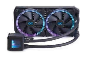 Alphacool Eisbaer Aurora 280 CPU - Digital RGB bővíthető folyadékhűtés  /11729/