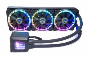 Alphacool Eisbaer Aurora 360 CPU - Digital RGB bővíthető folyadékhűtés /11730/