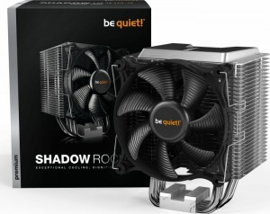be quiet! Shadow Rock 3 CPU-hűtő - 120mm(BK004)