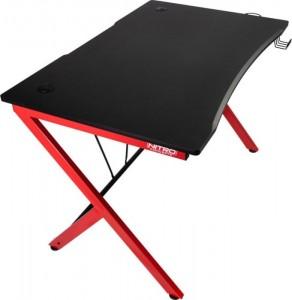Nitro Concepts D12 Gaming Desk - fekete/piros(NC-GP-DK-010)