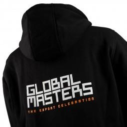 Global Masters Hoodie GM Logo - fekete (L) (GM-M-BY011A-L)