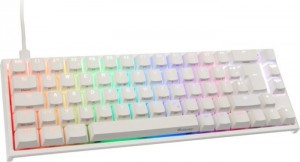Ducky One 2 SF PBT Pure White, MX RGB RED, USB, DE (DKON1967ST-RDEPDWWT1)