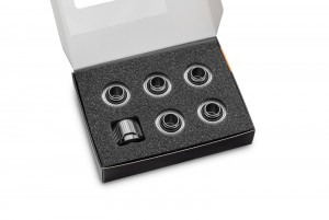 EKWB EK-Quantum Torque 6-Pack STC 12/16 - Black Nickel (3831109824498)