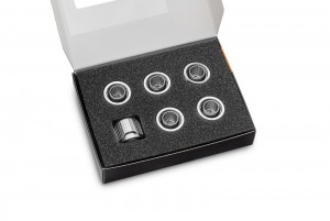 EKWB EK-Quantum Torque 6-Pack STC 12/16 - Nickel (3831109824375)