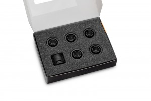 EKWB EK-Quantum Torque 6-Pack STC 10/16 - Black (3831109824429)