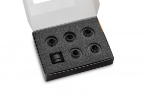 EKWB EK-Quantum Torque 6-Pack HTC 16 - Black (3831109824467)