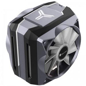 Jonsbo CR-1100 processzor hűtő, ARGB - 2x 120mm, szürke-fekete(CR-1100)