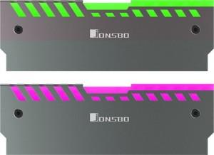 Jonsbo NC-2 2x RGB-RAM hűtő - ezüst(NC-2  AURAX2)