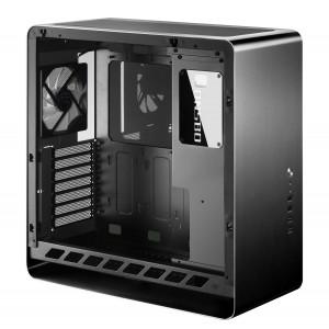 Jonsbo UMX4 Window Midi-Tower, edzett üveg - fekete(UMX4 BLACK)