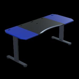 Halberd Chimera Strike 180cm Gamer asztal- Fekete/Kék (Chi18-F1R-BU-BK-CT8)