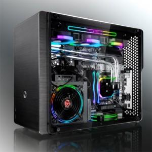 Raijintek Ophion M Evo TGS Micro-ATX számítógépház, edzett üveg - s(02R20B00135)