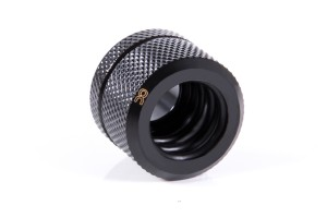 Alphacool Eiszapfen 14mm HardTube fitting G1/4  - Deep Black 17551