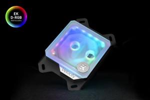 EKWB EK-Quantum Velocity D-RGB - AMD Nickel + Frosted Plexi (3831109814642)