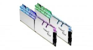 G.SKILL 16GB DDR4 3200MHz Kit(2x8GB) TridentZ Royal Silver (F4-3200C14D-16GTRS)