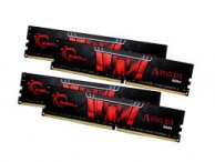 G.SKILL 64GB DDR4 3200MHz Kit (4x16GB) Aegis Black (F4-3200C16Q-64GIS)