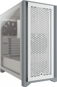 Corsair 4000D Airflow fehér, üvegablak (CC-9011201-WW)