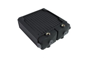Hardware Labs Black Ice SR2 Xtreme+ 140 MP Multi Port Radiator - Black Carbon /SR2-140 MP/
