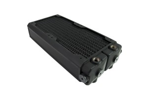 Hardware Labs Black Ice SR2 Xtreme+ 240 MP Multi Port Radiator - Black Carbon /SR2-240 MP/