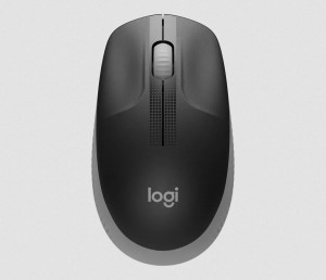 Logitech M190 Wireless mouse Middle Grey (910-005906)