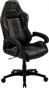 Thunder X3 BC1 CAMO gamer szék Black Hawk, camouflage/szürke