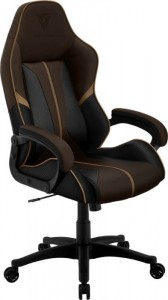 Thunder X3 BC1 BOSS Gamer szék Coffee Black Brown - fekete / barna (BC1 BOSS Black/Brown)
