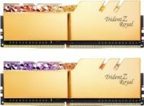 G.Skill Trident Z Royal arany DIMM készlet 32 GB, DDR4-3600, CL14-15-15-35 (F4-3600C14D-32GTRG)