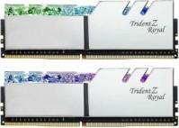 G.Skill Trident Z Royal ezüst DIMM készlet 32 GB, DDR4-3600, CL14-15-15-35 (F4-3600C14D-32GTRS)