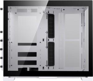 Lian Li O11 Dynamic Mini, Midi-Tower, edzett üveg - fehér (O11D MINI -W)