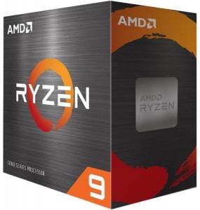 AMD Ryzen 9 5950X 3,5GHz AM4 BOX (Ventilátor nélküli) (100-100000059WOF)