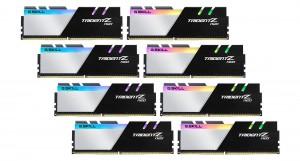 G.SKILL 256GB DDR4 3200Mhz Kit(8x32GB) Trident Z Neo Black/White (F4-3200C16Q2-256GTZN)