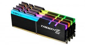 G.SKILL 128GB DDR4 3200Mhz Kit(4x32GB) Trident Z RGB (F4-3200C16Q-128GTZR)