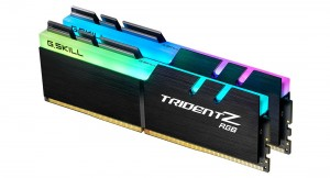 G.SKILL 64GB DDR4 3200MHz Kit(2x32GB) TridentZ RGB  (F4-3200C16D-64GTZR)