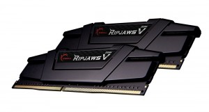 G.SKILL 16GB DDR4 4000MHz Kit(2x8GB) RipjawsV Black (F4-4000C16D-16GVK)