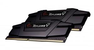 G.SKILL 16GB DDR4 3600MHz Kit(2x8GB) RipjawsV Black (F4-3600C16D-16GVKC)