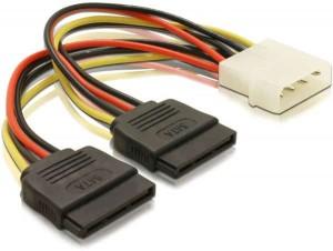 Kolink 2xSATA tápkábel átalakító (KKTSAP15241)
