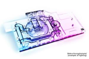 Eisblock Aurora Acryl GPX-N RTX 3080/3090 Aorus Master/Xtreme + Backplate (11952)