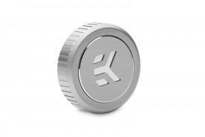EKWB EK-Quantum Torque Plug w/Badge - Satin Titanium (3831109828762)