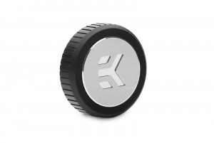 EKWB EK-Quantum Torque Plug w/Badge - Black (3831109826294)