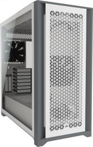 Corsair 5000D Airflow Tempered Glas, Tower- fehér (CC-9011211-WW)