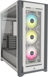 Corsair iCUE 5000X RGB Tempered Glas ATX, Tower- fehér (CC-9011213-WW)